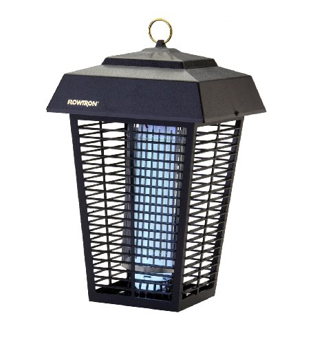 Flowtron BK-80D 80-Watt Electronic Insect Killer, 1-1/2 Acre Coverage - Zapper Electronic