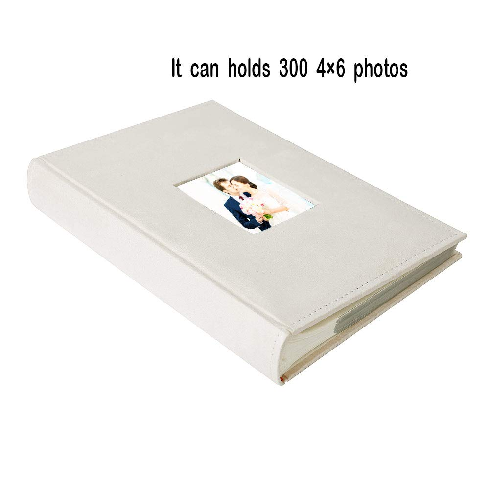 Facraft Wedding Photo Album 300 4x6 Horizontally With Memo Area And
