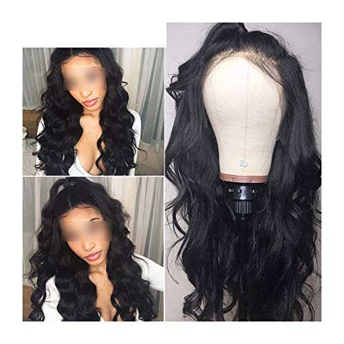 Lace Front Human Hair Wigs Pre Plucked 130% 150% 180% 250% Density Brazilian Body Wave Wigs For Women Remy Alipearl Hair,8Inches,180% -