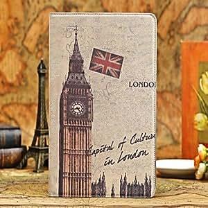 Funda de cuero de diseño especial PU gráfica con soporte para el iPad mini 2 , UK