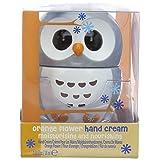 NPW Owl Hand Cream Flower(Orange/ Grey)