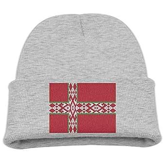 Amazon.com: RS-pthrA1!!! Flag of Nordic Belarus Kid's Hats
