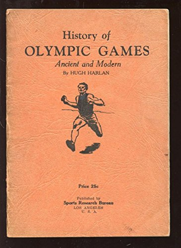 Original 1931 History of Olympics Booklet Vgex