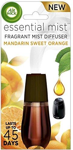 AIR WICK Essential Mist Refill, Mandarin & Sweet Orange 1 ea (Pack of 6)