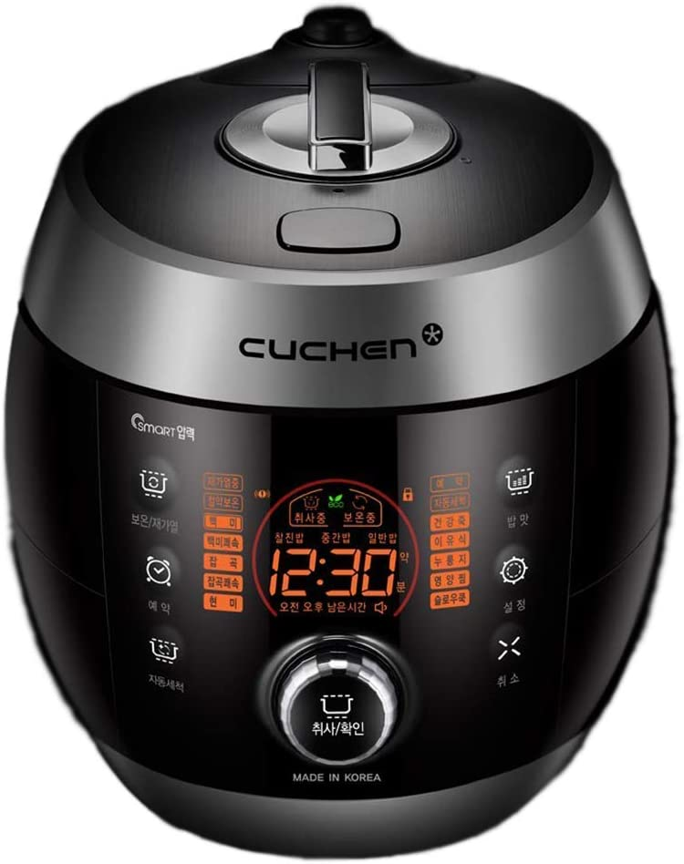 Cuchen USA Multi Pressure Rice Cooker 10cup CJS-FD1004RV Silver