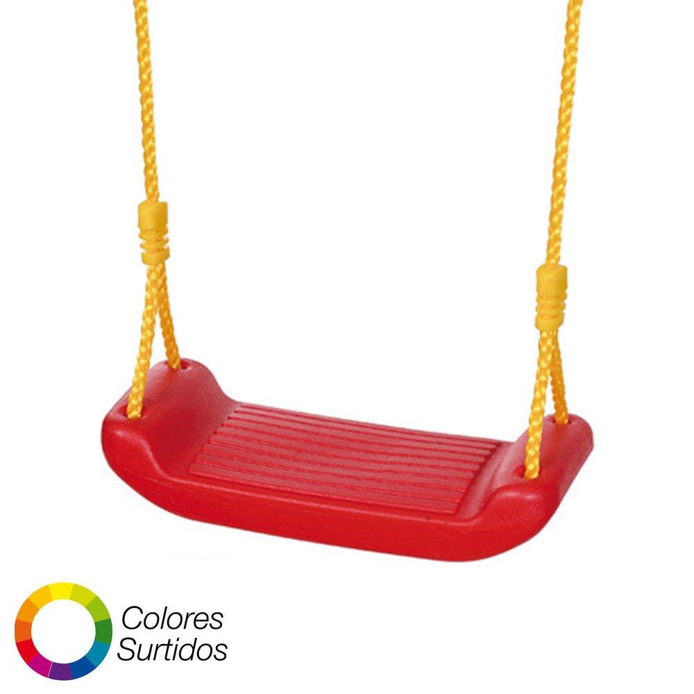 Webmarketpoint 8326010 - Seggiolino Seduta per Altalena Semplice in PVC, Bambini da 3 A 12 Anni, Portata 35 kg. PAPILLON