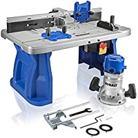 Kobalt 1/4-in and 1/2-in Fixed Corded Router with Table Deals