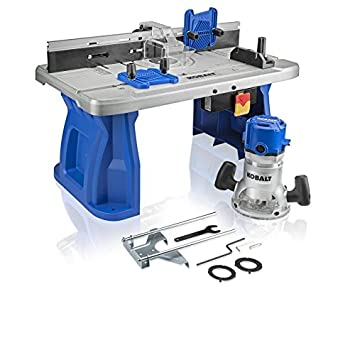 Fine Kobalt Fixed Corded Router With Table Included Theyellowbook Wood Chair Design Ideas Theyellowbookinfo