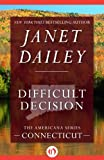 Difficult Decision by Janet Dailey front cover