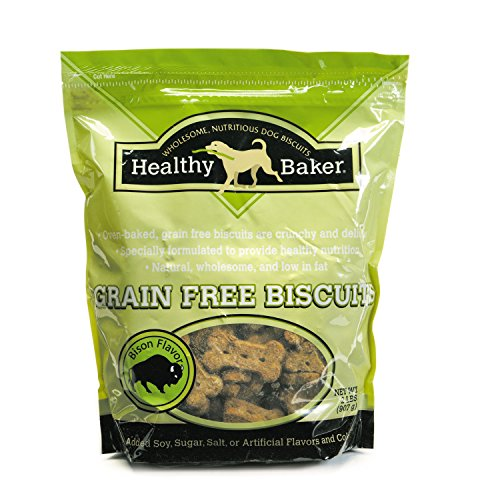 Healthy Baker Grain-Free Biscuits - Wholesome And Delicious Treats For Dogs - Bison, 2