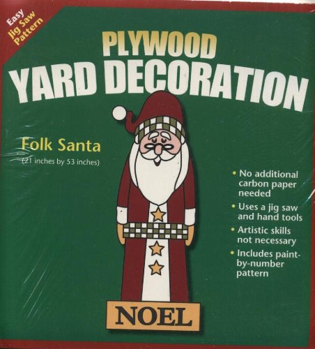 Christmas Yard Decorations Patterns.Yard Art Christmas Plywood Yard Decoration Pattern Folk