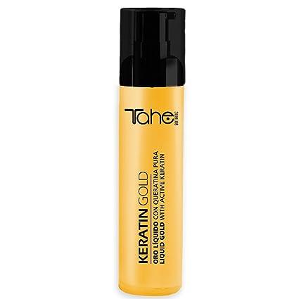 Tahe Keratin Gold Oro líquido con Queratina Pura, Células Madre Vegetales Activas y Aceite de