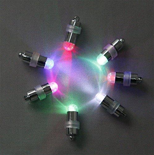 cocoso 24Stück LED Luftballons Lichter für Papier Laternen Ballons Floral Dekoration, kann Farbe auszuwählen Weiß