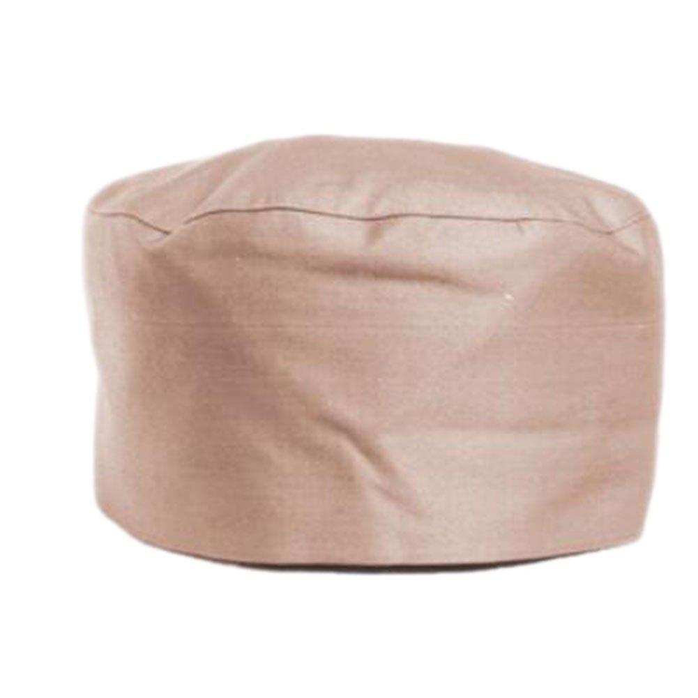 Japanese Fashion Cook Hats Hotel Cafe Flat Hat Adjustable Chef Hats-Khaki George Jimmy