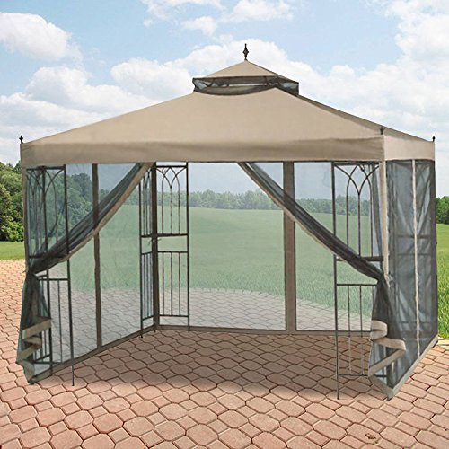 OPEN BOX - Replacement Canopy Top Cover for the Parkesburg 2015 Gazebo - RipLock 350
