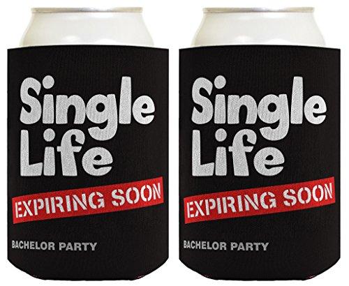 Bachelor Expiring Wedding Coolers Coolies