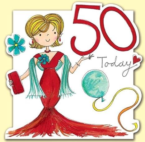 Rachel Ellen Biglietto Di Auguri Per Compleanno Di 50 Anni Da Donna