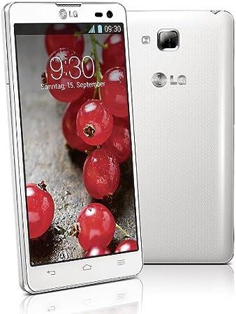 LG D605 Optimus L9II - Smartphone (11,9 cm (4,7), pantalla táctil, procesador Dual-Core de 1,4 GHz, cámara de 8 Mpx, memoria interna de 4 GB, 1 GB de RAM, Android 4.1) (importado): Amazon.es: Electrónica