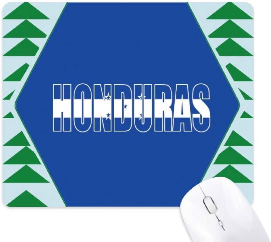 Alfombrilla de Goma para ratón, diseño de Bandera de Honduras ...