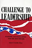 Challenge to Leadership, Isabel V. Sawhill, 0877664129
