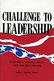 Challenge to Leadership, Isabel V. Sawhill, 0877664129