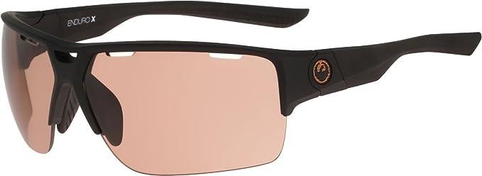 17b0f356a42 Dragon Alliance Enduro X Matte Black Copper + Clear Transition Lens  Sunglasses