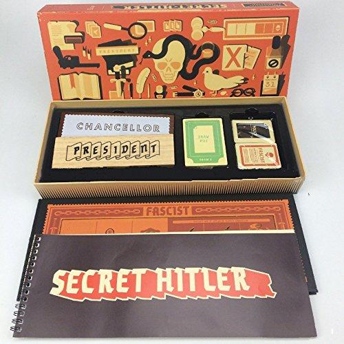 Comprar J.funyear Secret Hitler El Secreto de Hitler Juego de Mesa Cartas-UN Juego de Fiesta Que Necesita Ocultar su Identidad