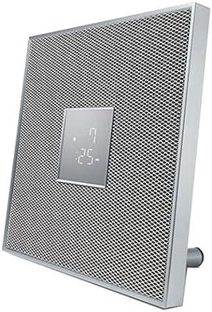 Yamaha ISX-80 30W Color Blanco, Plata Altavoz - Altavoces (De 1 vía, 1.0 Canales, Inalámbrico y alámbrico, 3.5mm/Bluetooth, 30 W, Blanco, Plata)