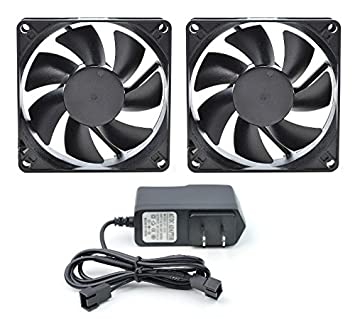 PROCOOL AV 280T   Two Fan Cabinet Cooling System   Silent 17 DBA At 64