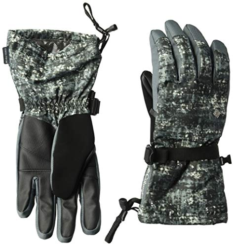 - Columbia Men's M Whirlibird Gloves, Graphite Mesh Print, X-Large
