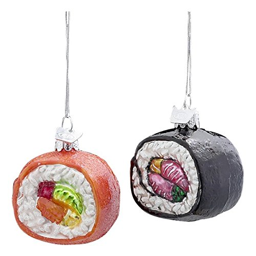 Noble Gems Glass Sushi Ornament product image