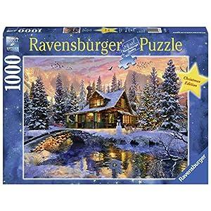 Ravensburger Bianco Natale Puzzle 1000 Pezzi Fantasy Multicolore 19796