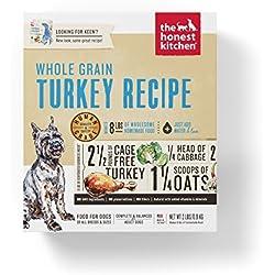 Honest Kitchen The Human Grade Dehydrated Organic Grain Turkey Dog Food, 2 lb - Keen