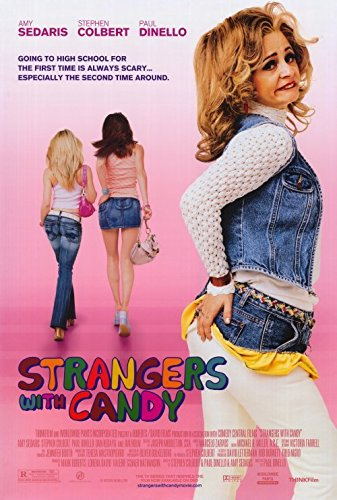 Strangers with Bon-bons Poster 27x40 Amy Sedaris Greg Hollimon Paul Dinello