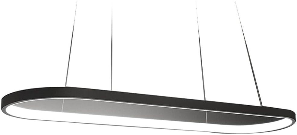 Lámpara de araña de Aluminio Negro Blanco araña de Luces LED Restaurante Dormitorio Sala de Estar lámpara de Personalidad Minimalista lámpara de araña de Aluminio de Hierro Forjado: Amazon.es: Hogar