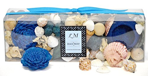 L & M Naturals Beachfront Potpourri~ Beautiful Natural Botanicals fragrance with a Fresh Relaxing Scent ~ Made in USA. by L&M Naturals