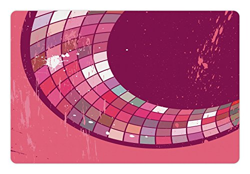 Pink Abstract Tile - 3
