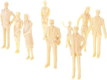 1//30 G scale Model People Train Building Layout Painted Figures 20PCS