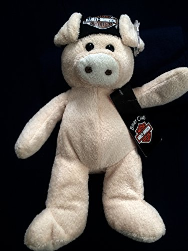 Kids Preferred Harley-Davidson Biker Club Plush Hog with Logo Bandana