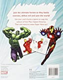 Marvel Avengers Assemble Copy Colouring: Match the Colours to Complete Over 20 Awesome Pictures!