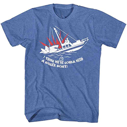 Jaws - I Think We Are Going to Need a Bigger Boat T-Shirt Size XL ()