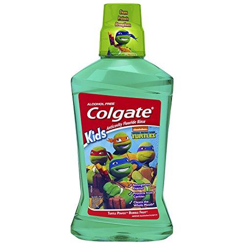 Colgate Kids Mouthwash Teenage Turtles