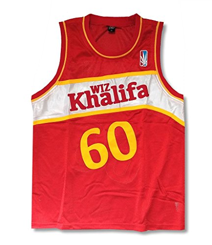 Wiz Khalifa Taylor Gang 60 Red Basketball Jersey Shirt - Style Wiz Khalifa