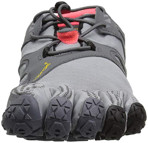 Vibram Women's V Trail Runner Grey/Black/Orange 36 EU/6 M US by Vibram (Image #4)