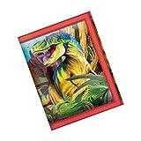 3D LiveLife Wallets - Dino Smiles. Lenticular 3D