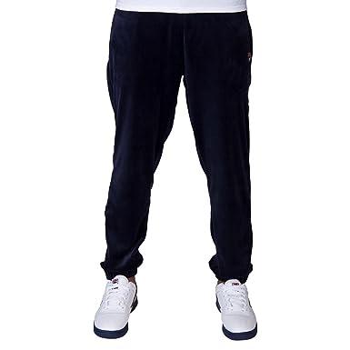 8a5c3603396a4 Fila Men's Dalton Velour Pants at Amazon Men's Clothing store: