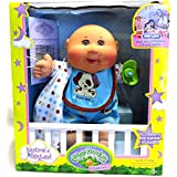 Naptime Baby Boy Cabbage Patch Kids Doll (Medium Tone, Bald)