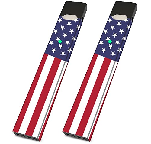 Premiere Skin Wrap for JUUL PAX, JUUL Wrappers (American Flag)