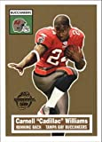 "2005 Topps Turn Back the Clock #22 OF 22 CARNELL ""CADILLAC"" WILLIAMS Tampa Bay Buccaneers"
