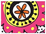 Doodle Garden Theme Gift Cards (6 Pack ) 3-3/4x2-3/4''